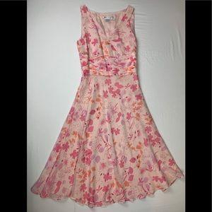 Maggy London silk dress